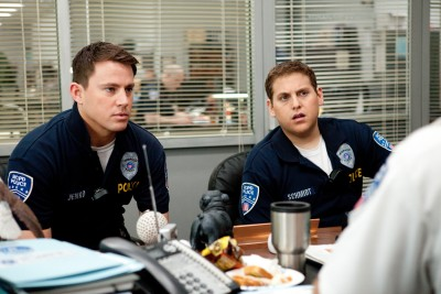 Channing Tatum and Jonah Hill play young cops...
