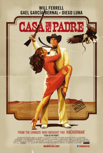 Casa De Mi Padre (2012) movie poster