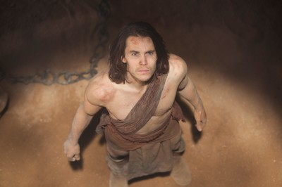 "Taylor Kitsch plays Civil War captain John Carter in Disney's ""John Carter."""