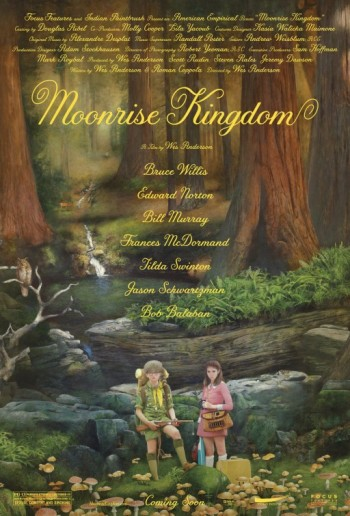 Moonrise Kingdom (2012) movie poster