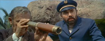 "James Mason portrays the complex Captain Nemo in Disney's ""20,000 Leagues Under the Sea."""