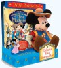 The Three Musketeers Gift Set with Mickey Plush - click for larger image