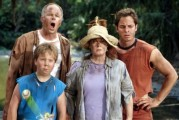 "The Stevens Family watches disaster strike on their island vacation in ""The Even Stevens Movie"", one of more than a dozen DVDs just formally announced by Disney."