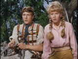 "Michael Anderson Jr. and Hayley Mills get a surprise in this scene from ""In Search of the Castaways"", which makes its DVD debut next Tuesday. Click to read our review."