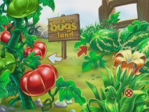 New to this repackaging of the Collector's Edition: A Bug's Land game.