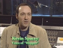 "Kevin Spacey in ""Voice Casting"" featurette."
