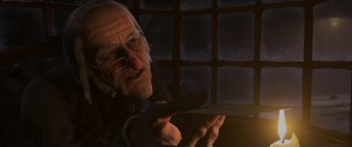 Miserly antihero Ebenezer Scrooge (Jim Carrey) has been portrayed many times before, but never in motion capture animation.