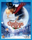 A Christmas Carol (2009): Blu-ray + DVD combo cover art - click to buy from Amazon.com