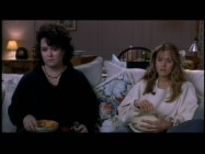 "Rosie O'Donnell and Meg Ryan recite the dialogue of ""An Affair to Remember"" in ""Sleepless in Seattle"", as seen in the AMC Backstory episode."