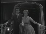 "A young Shelley Winters arrives to the premiere of ""An Affair to Remember"" alongside Tony Franciosa, as seen in the DVD's Movietone newsreel."