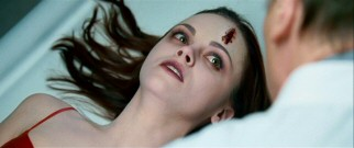 Schoolteacher Anna Taylor (Christina Ricci) responds to news of her death with disbelief.