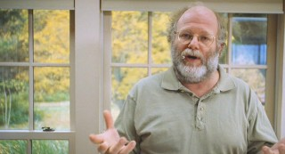Ben Cohen, the co-founder of Ben & Jerry's Ice Cream, may make a lot of money, but he gets food in his beard just like you and me!