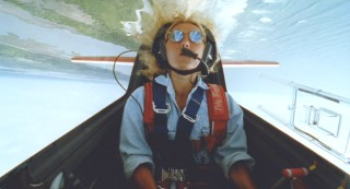 Patty Wagstaff, a champion aerobatic flyer, has the sky below and the world above.