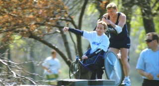 Rick and Dick Hoyt are Boston's father/son team of marathon racers.