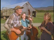 "In this extended musical performance, Vermont dairy farmer George Woodard and the Ground Hog Oprey sing ""Dreams Come True."""