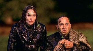 Of course, the Russian baddies (Nora Dunn and Perry Anzilotti) get covered with goo. What kind of a movie do you think this is?!
