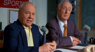 Comedy veterans Tim Conway and Dick Martin make what the end credits call special appearances as the announcers of the state finals game.