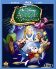Alice in Wonderland (1951): 60th Anniversary Edition Blu-ray + DVD cover art -- click for larger view