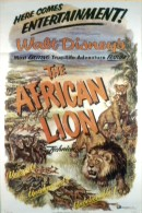 """The African Lion"" (1955) movie poster"