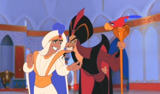 Jafar feels threatened by 'Prince Abooboo'.