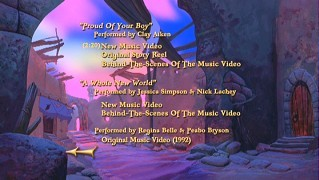 Bonus Features: Music & More Menu
