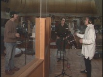 "Brad Kane and Lea Salonga record ""A Whole New World."""