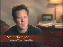 Scott Weinger reflects on voicing Aladdin as a teenager.