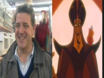 Jonathan Freeman (Jafar's voice) goes shopping for a bird.