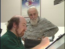 Al Hirschfeld, whose caricatures inspired the look of 'Aladdin' is profiled.