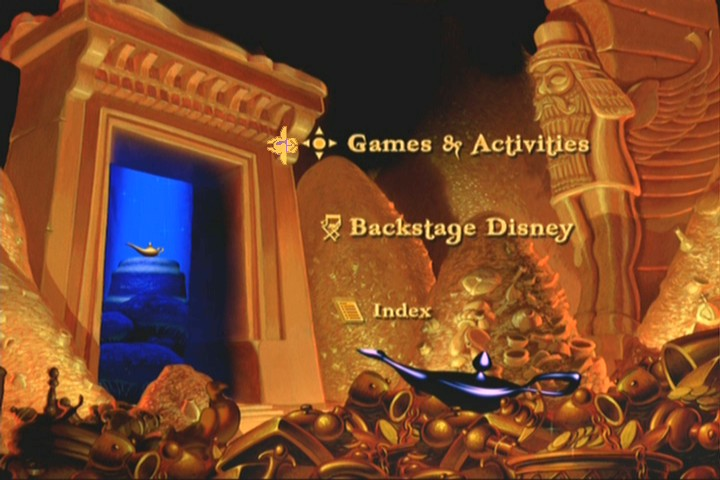 Disc 2 Main Menu