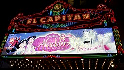 Aladdin's DVD Premiere at the El Capitan in Hollywood