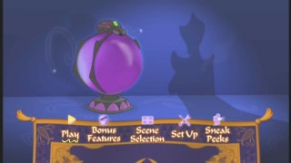 The Return of Jafar's Main Menu