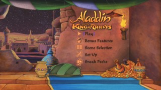 Aladdin and the King of Thieves' Main Menu