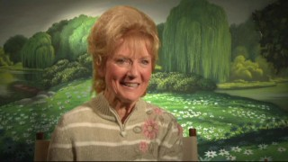 "Kathryn Beaumont Levine fondly remembers working with actor Ed Wynn in the all-new featurette ""Reflections on Alice."""
