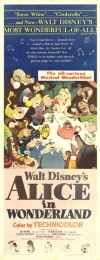 Disney's Alice in Wonderland (1951) movie poster