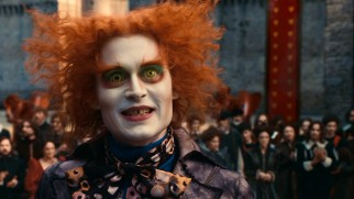 "A character with ""Mad"" in his name gives Tim Burton and Johnny Depp license to go far out. As with their Willy Wonka, they seek to somewhat explain Tarrant Hightopp's eccentricities."