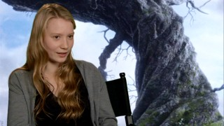 "Young Australian actress Mia Wasikowska discusses ""Finding Alice."""