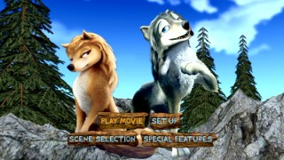 Flat renderings of Kate and Humphrey feature at the end of the DVD main menu's three-dimensional fly-around.