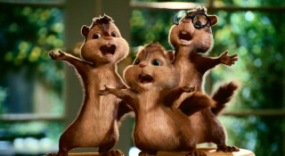 Chipmunks that sing... the answer to Dave's prayers.