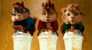 What happens when three chipmunks consume tall coffee drinks in a matter of seconds? Prepare to find out.