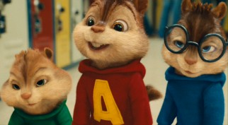 Theodore, Alvin, and Simon are smitten upon first sight of The Chipettes.