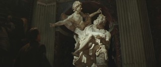 Bernini's statue of Habakkuk and the Angel points Robert down the path of Illumination, the pattern the assassin is using to hide and kill the preferiti.