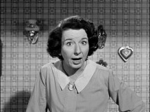 The wonderful Mary Wickes introduces us to this serial somewhere between in and out of character.