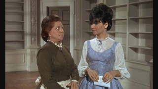 "Hermione Baddeley (who also played house help in ""Mary Poppins"" a few years earlier) portrays Miss Irene Chesney. Here, she discusses what's next with Arabella (Suzanne Pleshette) as the Flagg household gets emptied."