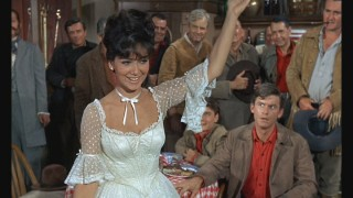 Arabella (Suzanne Pleshette) finds a different way to make money out West.