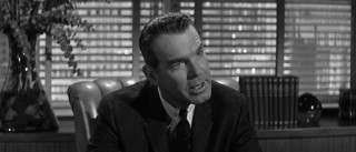 "Fred MacMurray finds himself tangled up in an insurance agency once again, no less crooked this  time than in ""Double Indemnity""!"