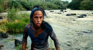 This is our leading man: Rudy Youngblood portrays Jaguar Paw, a headstrong young Mayan on the run.