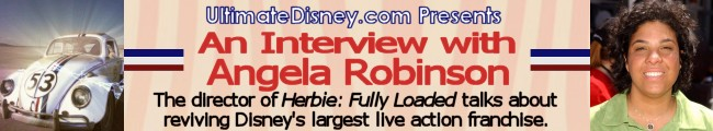 UltimateDisney.com Presents An Interview with Angela Robinson