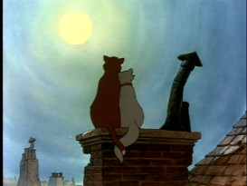 Still from The Aristocats: Gold Collection DVD - click to view screencap in full 720 x 480.