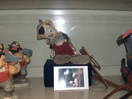 This Pinocchio marionette puppet was likely used in the making of Disney's 1940 film. It was uncovered three years ago.
